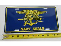 United States U.S NAVY License Plate Car Truck Tag Sailor Seals Military