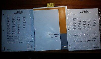 Case 1840 Uni-loader Parts Catalog Manual Bur 8-5373 Rev 1 198 Rev 2 199