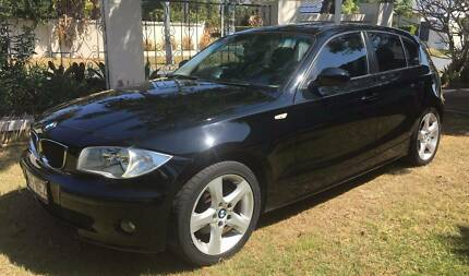 2006 BMW 120i E87 Black 6 Speed Automatic Hatchback
