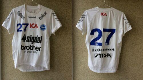 Nordstrand Handball Shirt XL Jersey Hummel Norge Match Worn # 27
