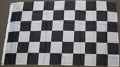 New Nascar Car Flag (3X5 CHECKERED FLAG NASCAR NEW CAR RACING RACE SIGN)