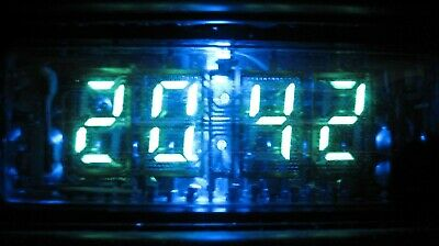 Lot Of 1 Pc Ivl2-75 B2-75 4-digit Vfd Nixie Tube For Clock New Tested
