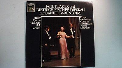 Baker Fischer Dieskau Barenboim EMI 1C063-02041 LP81