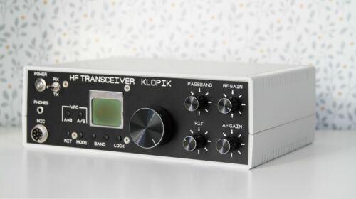 CW/SSB Klopik-2 transceiver v.2.2- 9 bands. Output 30 Watt. (KIT diy).
