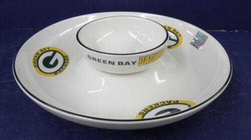 Phaltzgraff Green Bay Packer Chip & Dip- New in Box - RETIRED