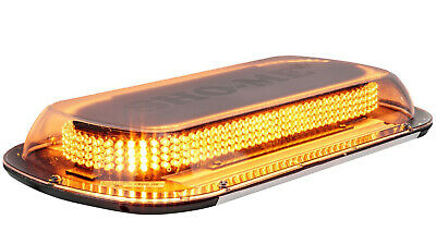 Sho-me Led Mini-bar 17 Mag Mount Bright Amber Lightbar Quickship Light Bar