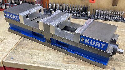 Kurt 6 Anglock Doublelock Cnc Machine Vise W Soft Jaws - Dl-640 Dual Station