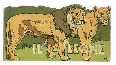 AMBROSI ERNESTO IL LEONE TIRRENA 1941 IL MIO SERRAGLIO ILL. CARLO ROMANELLI