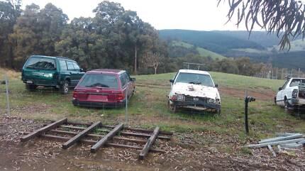 subaru wrecking forester brumby sport wagon