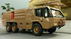 1:76 80 87 HO/OO/00 Magirus Dragon X6 Military Airport Rescue Fire Engine Model