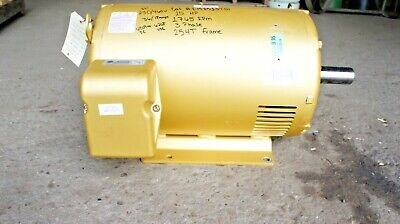 Baldor Em2513tg 15 Hp 1765 Rpm 3 Phase 254t Electric Motor