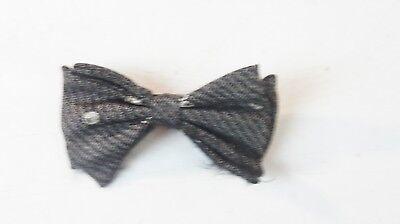 Schleife Bow-tie Querbinder Fliege vintage Clip-on B-11829