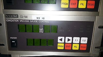 Ulvac Gi-m Ionization Vacuum Gauge Controller