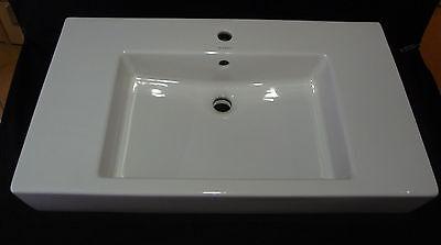 Duravit Vero Waschbecken (Duravit Vero 85 cm Waschbecken Waschtisch für Möbel, weiss 329850000 Lagerware)