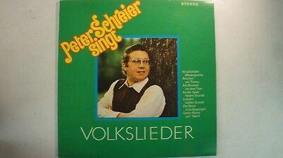 Peter Schreier singt Volkslieder Eterna 826549 LP81