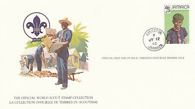 (14071) Jamaica FDC Card Scouts Kingston 12 July1982