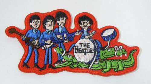 The BEATLES Figures - TV Series - Embroidered Iron-On Patch - 3 1/2""