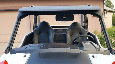 """DELUXE Rear View Mirror 12""""W x 4 1/2""""T for Polaris General, General 1,000"""
