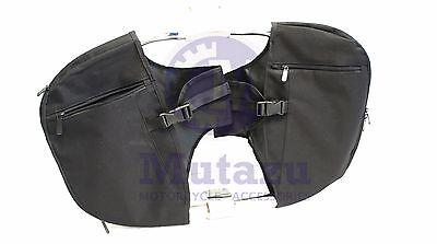 - Mutazu Soft Lowers Chaps Leg Warmer for Harley Touring model OEM Engine Guard