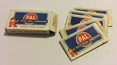 Vintage Pal Razor Blades in packet