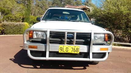 Ute 1996 Ford Courier Byford Serpentine Area Preview