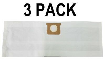 3-PK Paper Bags for SHOP VAC Fits All Tank Sizes 5-8 Gallon Replacement