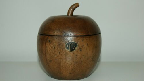 APPLE TEA CADDY