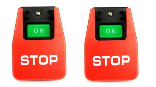(2) Emergency Shutoff 110/220 Volt Paddle On/off Switch T...