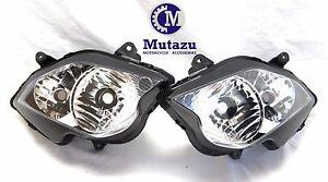 Mutazu Premium Quality Headlight assembly for Honda VFR800 VFR 800 2002-2012