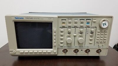 Tektronix Tds540 Four Channel Oscilloscope 500 Mhz 1gss