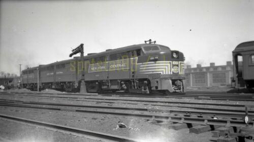 1948 NYC New York Central Alco FA1 Locomotive #1008 - Vintage Railroad Negative