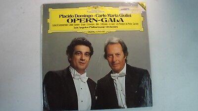 Placido Domingo Carlo Maria Giulini Opern Gala Digital DG 2532009 OVP LP81