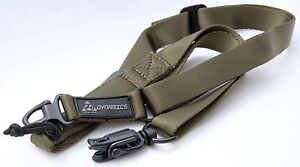 Green Magpul Stlye MS1&2 Multi-Point Tactical Airsoft Sling /Paintball Sling