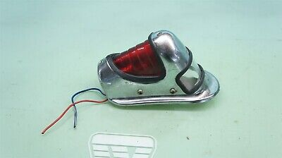 HARLEY KNUCKLEHEAD OEM PARTS * 1848 RBE EAGLE IRON BEEHIVE TAIL LIGHT EARLY COPY