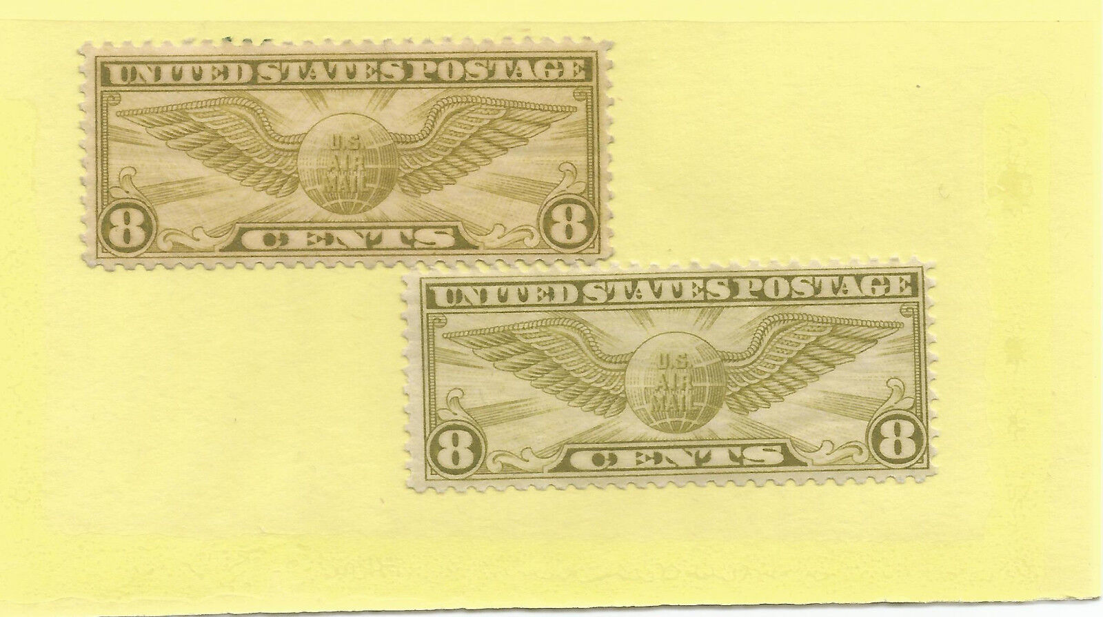 Scott # C17 old 1932 airmail US stamp og mint not hinged mnh buy one now!