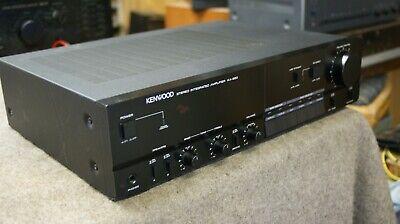 KENWOOD KA-550 VINTAGE CLASSIC  INTEGRATED AMPLIFIER PHONO MM/MC