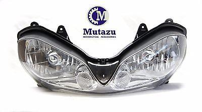 Mutazu Premium Quality Headlight assembly for Kawasaki ZX10R ZX 10R 2004 2005