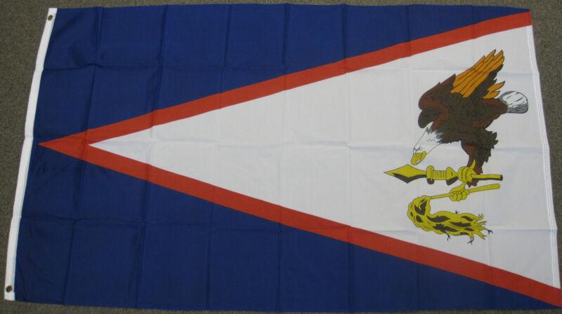 3X5 AMERICAN SAMOA FLAG SAMOAN FLAGS NEW USA US F-192