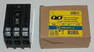 Qob370 Square D Circuit Breaker 10ka240v - Brand New In Box