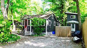 Double cottage plus bunkie (balm beach)