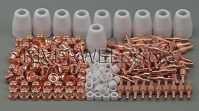 Esab Lg-40 Pt-31 Plasma Cutter Consumable Electrodes Tips Nozzle Cut-40 235pcs