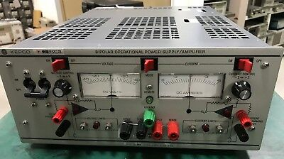 Kepco Bop36-6m Power Supply Dc Bipolar Operational Amplifier