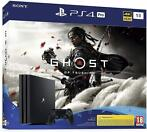 Sony - PlayStation 4 Pro (Black) 1TB + Ghost of Tsushima