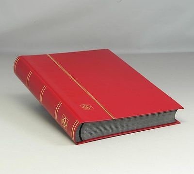 Lighthouse Hardcover Stockbook -64 Pgs.- Red -- LS4/32 -- 30% OFF