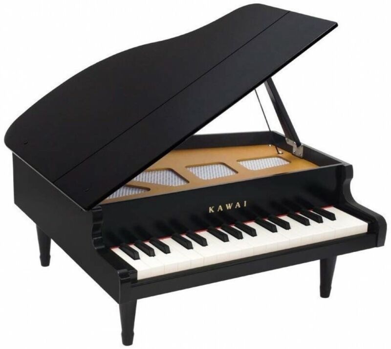 KAWAI Mini Grand Piano 32 Key Toy piano Black Made In Japan 1141