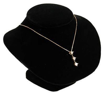 5 18 Black Velvet Pendant Necklace Jewelry Display