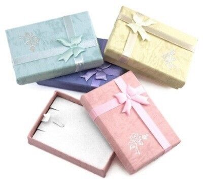 Jewellery - Jewellery Necklace Gift Box  - Choose your colour x  2
