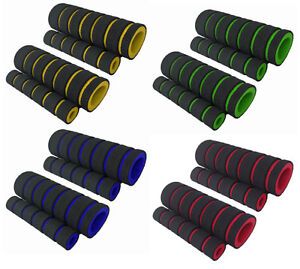 Pair-Soft-Foam-Sponge-bmx-mtb-Bike-Cycle-Bicycle-Handle-Handlebar-Bar-Grips