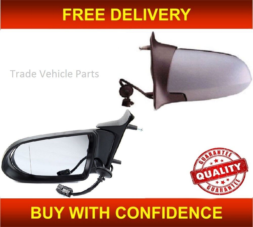 Vauxhall Zafira B 05-07 Electric Heated Primed Door Wing Mirror Rh Right Side Os