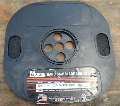 Morse Band Saw Blade Coil Stock 14 X 100 X 24r 401922-67